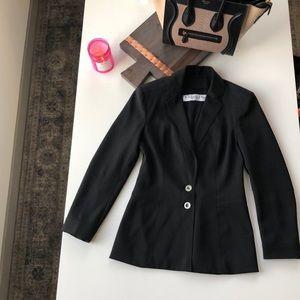 Christian Dior Boutique Paris Black Blazer size 6